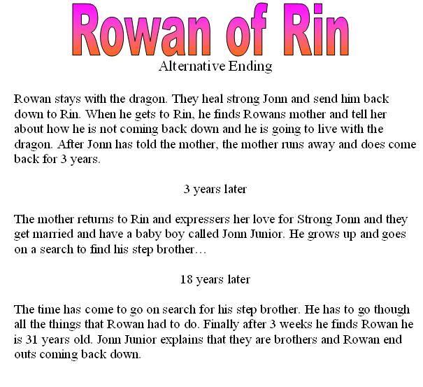 rowan of rin activities - Google Search