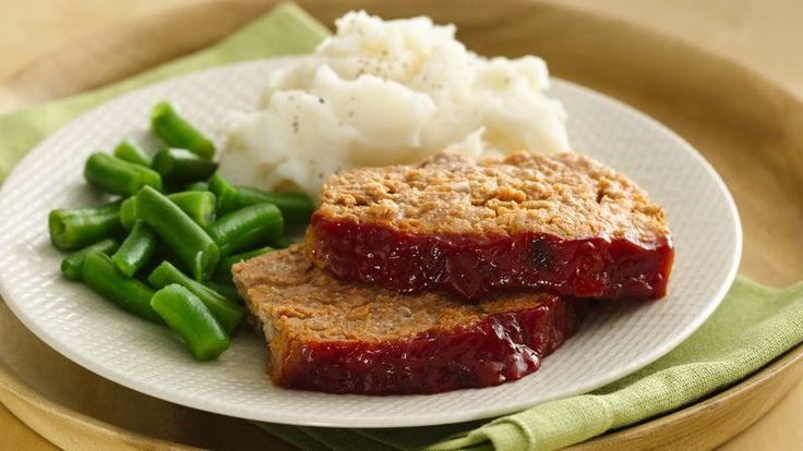 Don't miss out on this comfort food classic, just because you are watching what you eat. Swapping turkey for beef lightens up the recipe, while yogurt adds moisture, so you can enjoy all the flavor you love in meatloaf, with less of the fat.