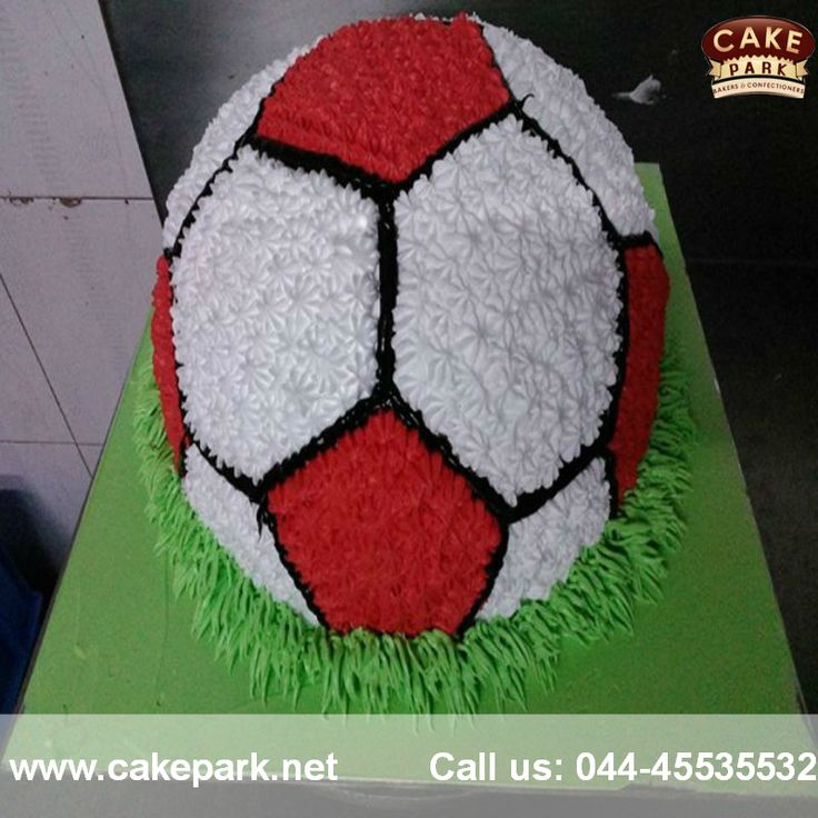 Sports Lovers  #CakePark- Place a cake order in the design of your favorite sports and treat both your eyes and taste buds.  Call us: 044-45535532 Visit us: www.cakepark.net