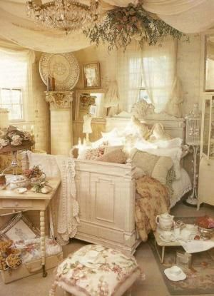 Shabby Chic Bedroom Decorating Ideas 22 by Cloud9
