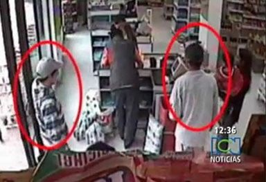 DOUBLE MURDER IN A COLUMBIAN SUPERMARKET