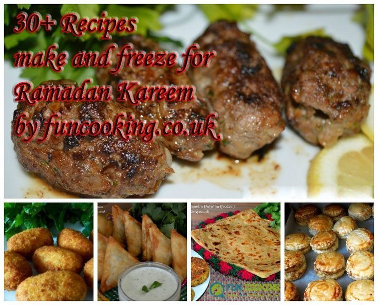 Yummy & healthy Ramadan Recipes that you can prepare & freeze.Concentrate on prayers this Ramadan by preparing and freezing these easy to make recipes.