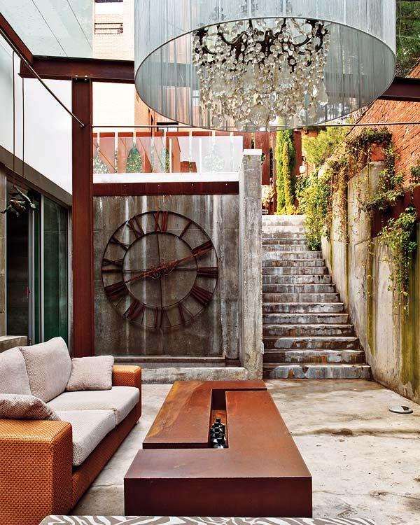 alpenstrasse:    Outdoor chandelier