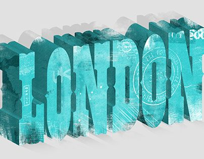 """Check out new work on my @Behance portfolio: """"London Typography"""" http://be.net/gallery/36317445/London-Typography"""