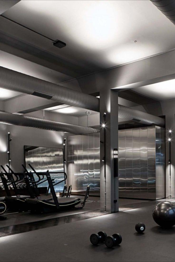 Maddox Fit Pods Gym Decor Luxury Gym Gym Lighting