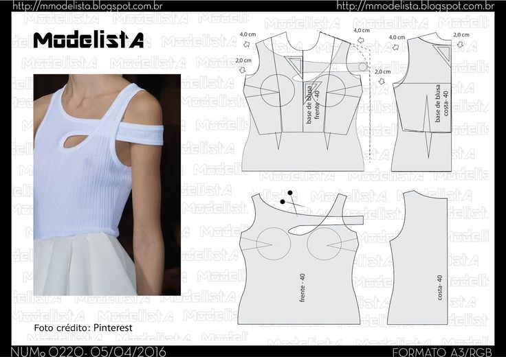 Sewing Pattern/ Top