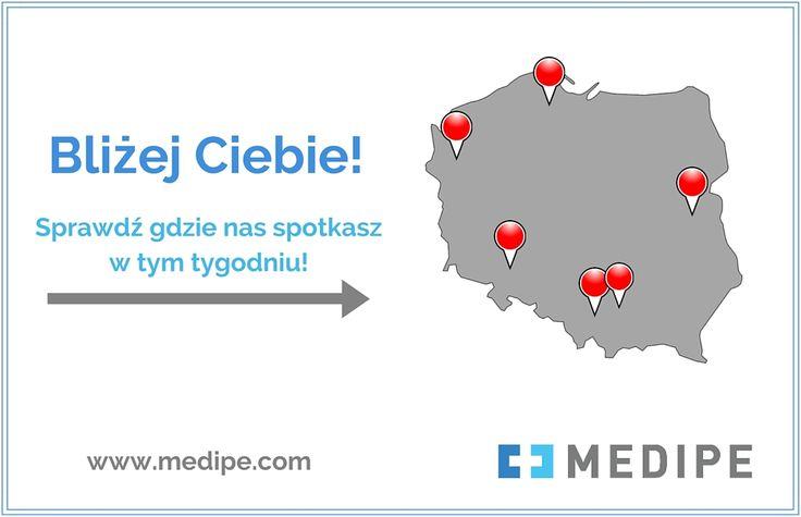 Sprawdź, gdzie spotkasz konsultantów MEDIPE w tym tygodniu: www.medipe.com  Praca dla Opiekunki/Opiekuna osoby starszej