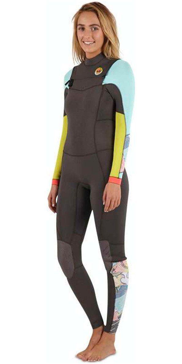 **2015/16 Billabong Ladies Salty Dayz 5/4mm Chest Zip Wetsuit - HERITAGE U45G01