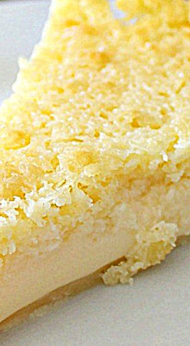 Lemon Impossible Pie - Impossible Pies were the rage in the 60s and this updated version is just as simple and delicious as it was back then. For the un-iniated, this pie uses one bowl and forms its own bottom crust and top crust as it bakes. ❊