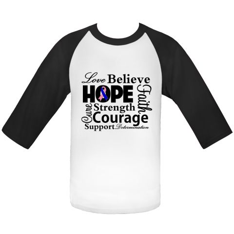 Male Breast Cancer Love Hope Believe and Faith  Baseball Jerseys featuring a typographic design spotlighting supportive words such as strength, courage, determination, cure, support and an awareness ribbon #MaleBreastCancerAwareness