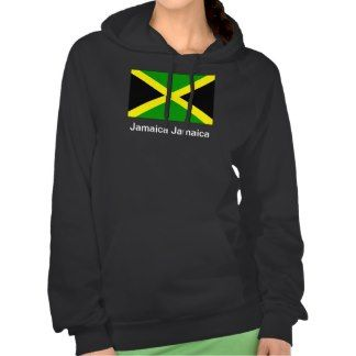 Show your love for the beautiful island of Jamaica. $47.95 #fashion #apparel #clothes #Jamaica #Jamaican #hoodie #hoody #ladies #female #reggae #BobMarley #zazzle #model