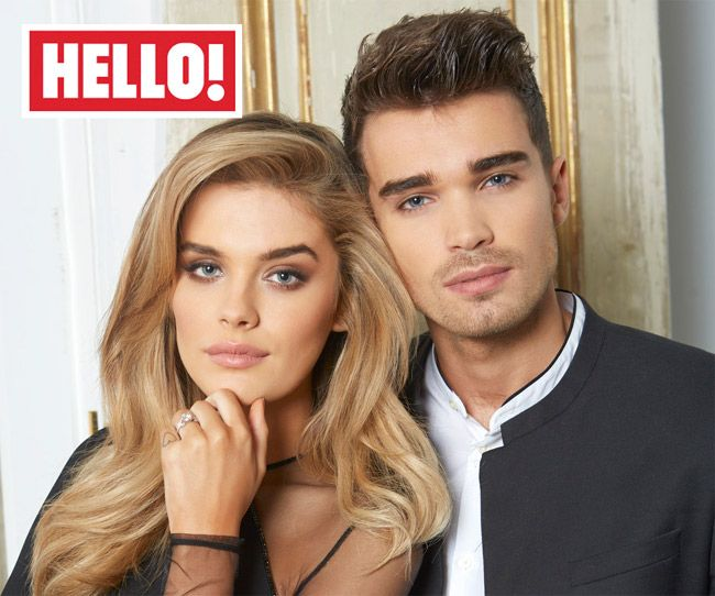 Union J's Josh Cuthbert and Chloe Lloyd speak exclusively to HELLO! about their romantic engagement