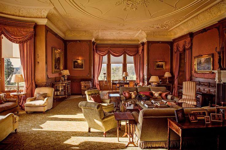 Skibo Castle morning room