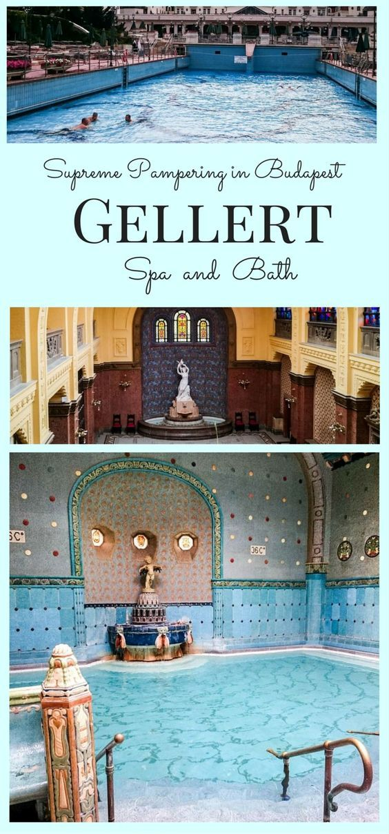Supreme Pampering in Budapest Gellert Spa and Bath.  Have you been to Hungary and explored the beautiful city of Budapest?  If you have, I hope you went to one of the baths.  Click here to read more about our experience! ~ReflectionsEnroute
