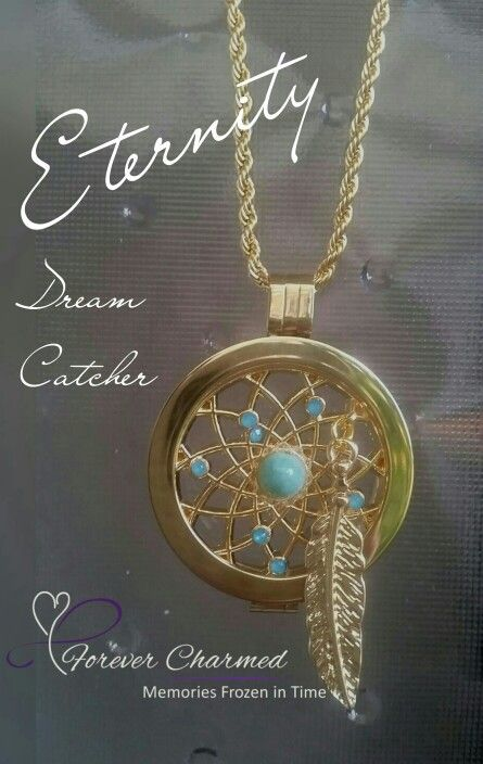 Dream Catcher on our necklace.