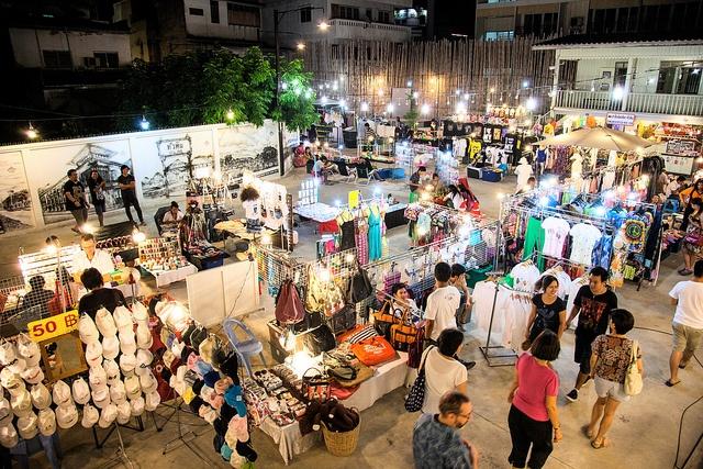 Hua Hin Cicada Weekend Night Market  Thailand