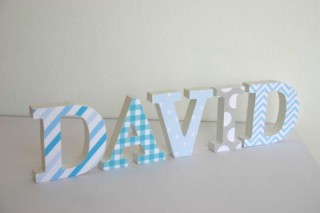 Wunderschöne selbst gestaltete Buchstaben zum Aufstellen