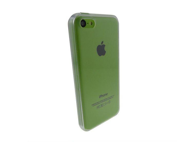 Siliconen Gel TPU iPhone 5C hoesje Transparant
