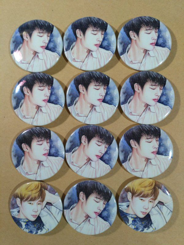 "PIN Button ""Write"" Woohyun 1st Solo Album"