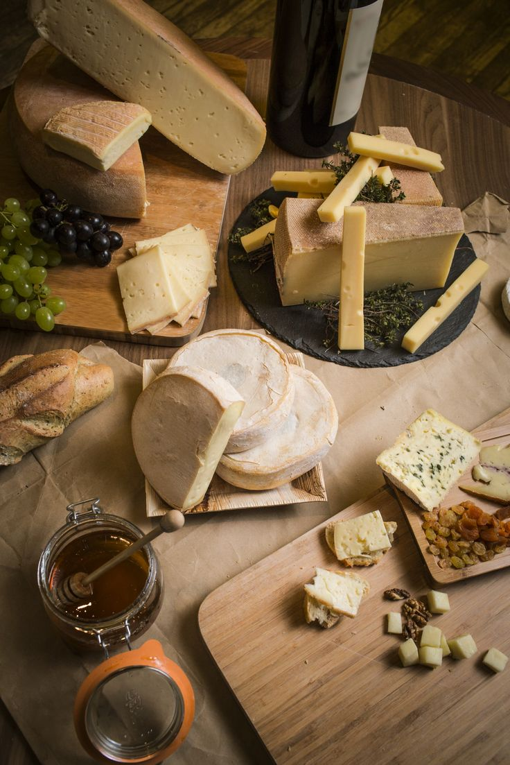 Reblochon and roquefort feature in a decadent selection of cheeses in the chalets, served alongside sweet honey and crusty French baguettes.