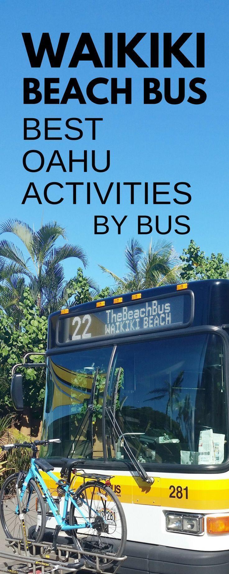 Getting Around Waikiki By Bus Things To Do Near Waikiki Oahu