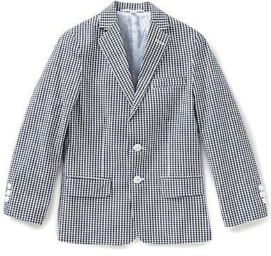 Class Club Big Boys 8-20 Gingham Blazer