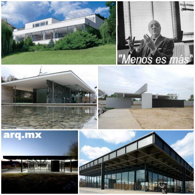 La influencia de mies van der rohe en la arquitectura - Arquitectura minimalista ...