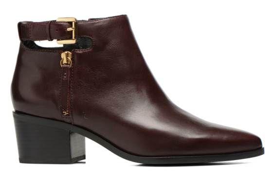 Geox D LIA A D540HA (Bordeaux) - Bottines et boots chez Sarenza (234551)