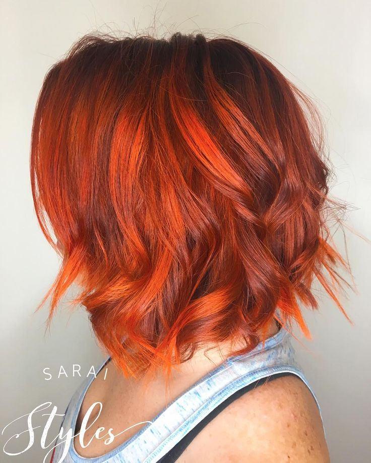 Best 25+ Orange highlights ideas on Pinterest | Red ...