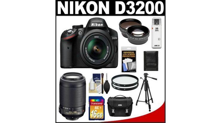 Nikon D3200 Digital SLR Camera review with 18 55mm G VR DX AF S Zoom Len...
