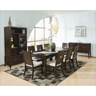 Najarian Furniture Spiga 9 Piece Dining Set