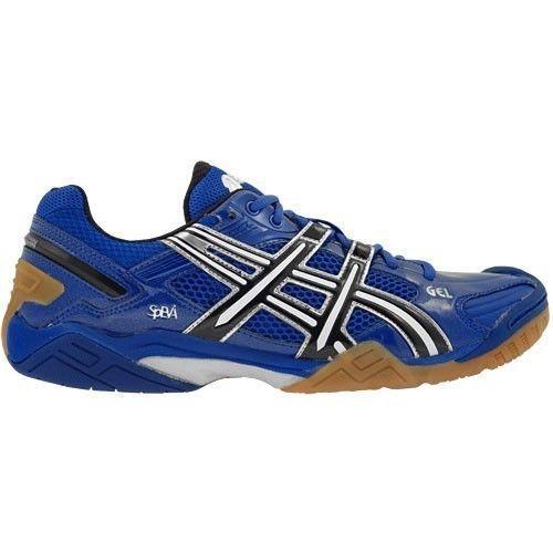 NWB ASICS GEL-DOMAIN® Athletic Shoes Men's US 12 M(D) Blue/Blk/Wht