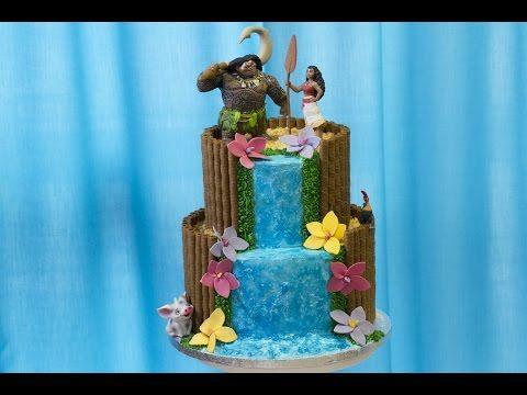 Gâteau Vaiana / Moana Cake - Anne-Sophie FashionCooking