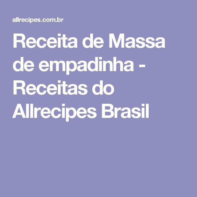 Receita de Massa de empadinha - Receitas do Allrecipes Brasil