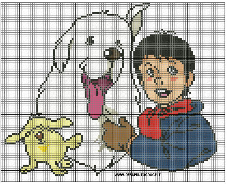 BELLE AND SEBASTIEN CROSS STITCH by syra1974 on deviantART