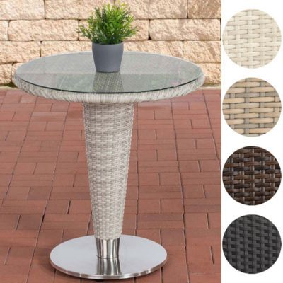 Poly-Rattan Gartentisch INEZ rund, ca. Ø 70 cm, ALU Gestell, Höhe 75 cm, Jetzt bestellen unter: https://moebel.ladendirekt.de/garten/gartenmoebel/gartentische/?uid=71db38ca-e15f-50b5-8019-ebe0ebe55c58&utm_source=pinterest&utm_medium=pin&utm_campaign=boards #garten #gartenmoebel #gartentische