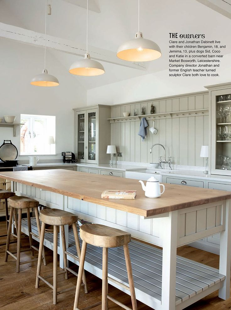 Our Beautiful Warwickshire Barn Shaker Kitchen Has An Amazing 6 Page Feature Case Study In The