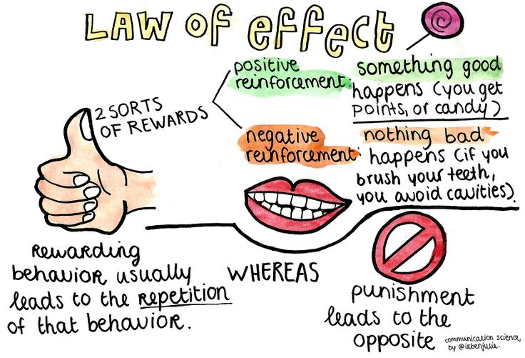 Opinions on Law of effect