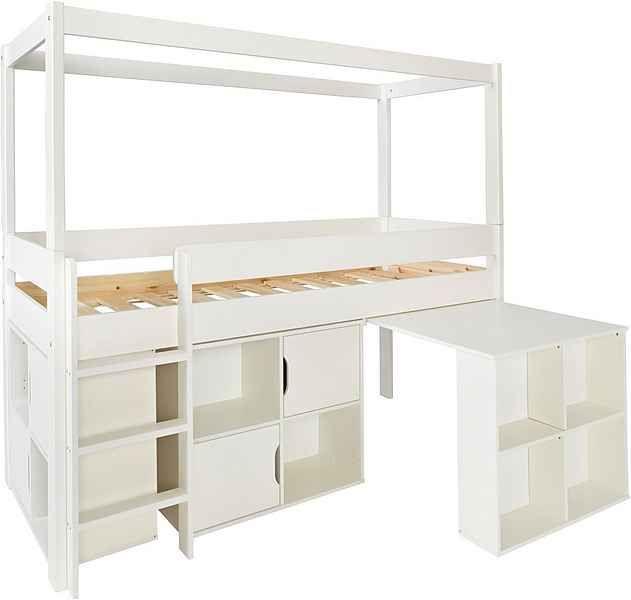 Bed, Loft Und Home Decor