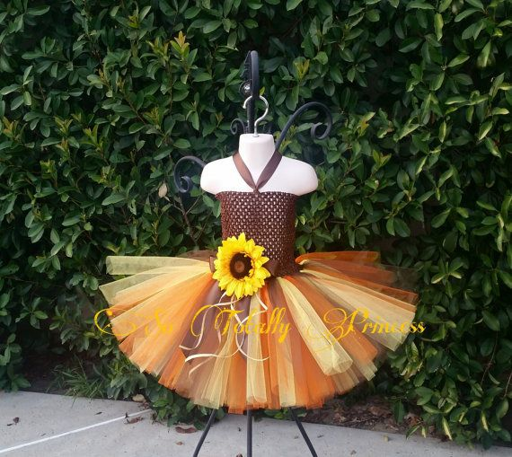 Fall tutu dress/Thanksgiving tutu by Sototallyprincess on Etsy