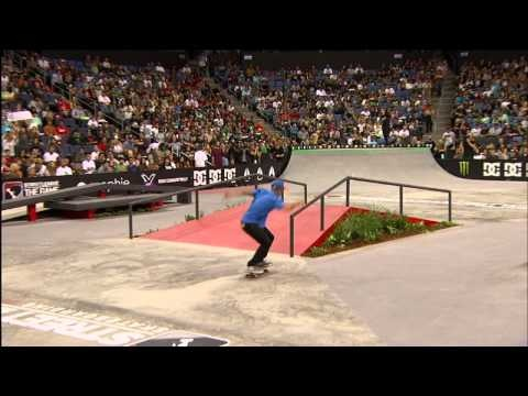 The Best Of Chaz Ortiz On Street League 2012