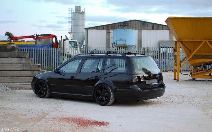 Slammed VW Wagon