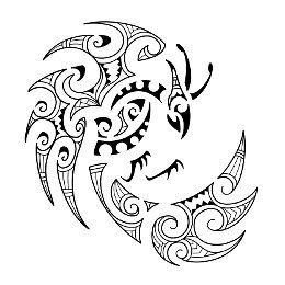 Tatuaggio di Fenghuang stile Maori, Virtù, grazia tattoo - TattooTribes.com