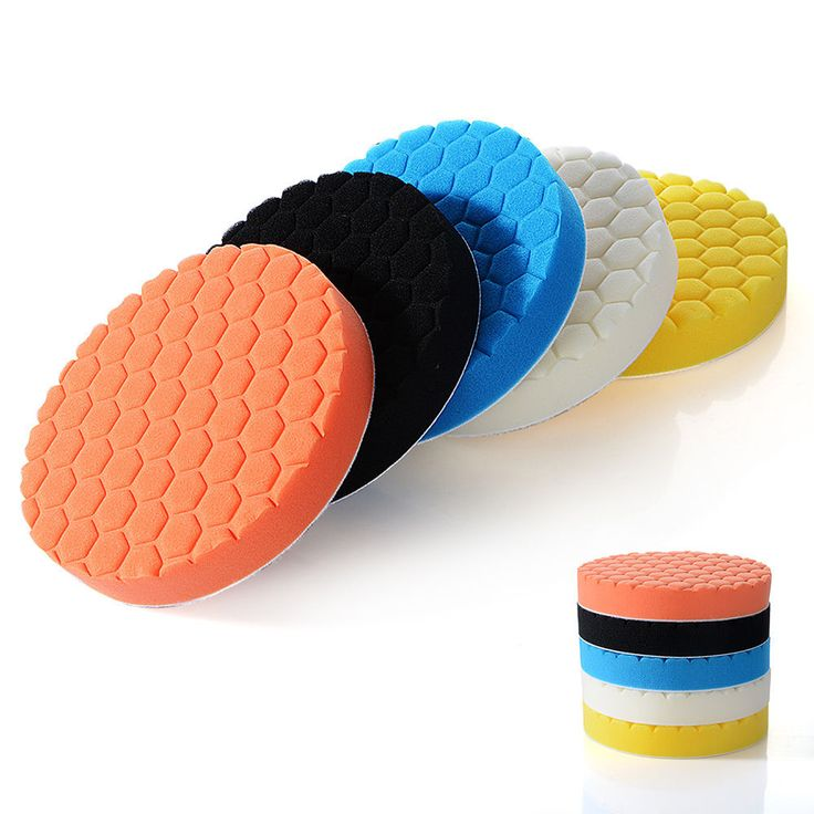 US-Deals Cars 5Pcs 3/4/5/6/7inch Buffing Sponge Polishing Pad Kit Waxing Set Car Auto Polisher: $8.24 End Date: Thursday…%#USDeals%