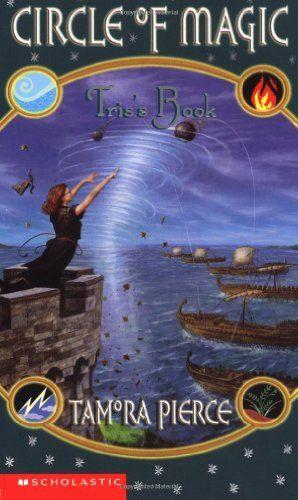 Tris's Book (Circle of Magic #2) by Tamora Pierce http://www.amazon.com/dp/0590554093/ref=cm_sw_r_pi_dp_47dtub0WE89Y5