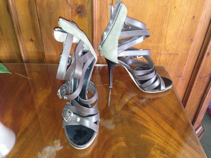 ZANOTTI sandals slave multiple straps Sorry NON AVAILABLE