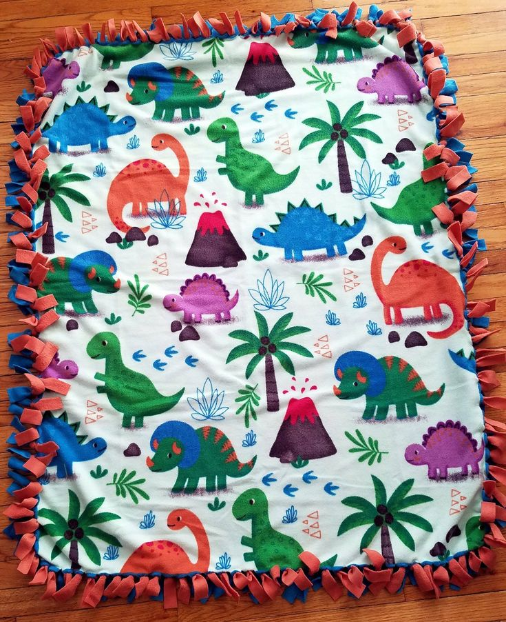 Awesome Dinosaur Fleece Throw Blanket. Check out my #etsy shop! http://etsy.me/2CMc5oZ