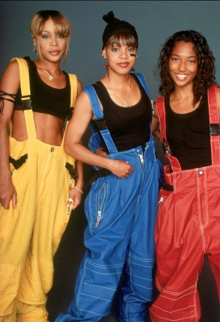 I have chosen this image as TLC are an original hiphop group, I also chose it because I like their style in this image, due to it being unique