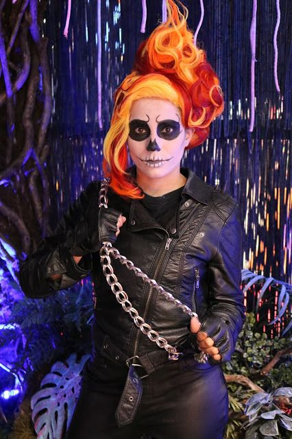 Ghost Rider Cosplay At New York Comic Con 2015. | [Nubia's Nonsense] [an awesome blog by an awesome Nubia]
