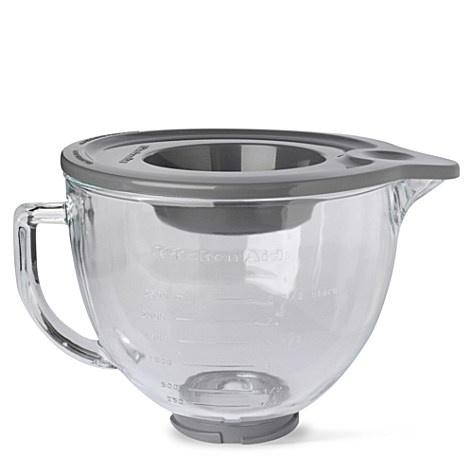 Glass bowl for the kitchenaid